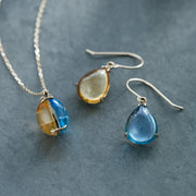 Day and Night Shizuku Half Earrings - MOTHERHOUSE