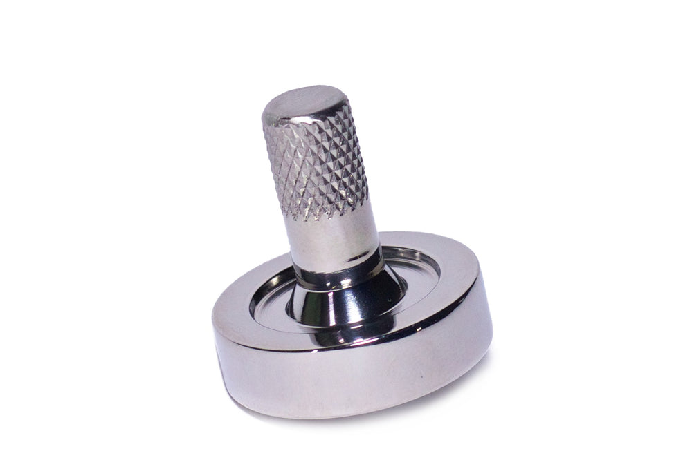 Schulte Stainless Steel Spinning Top
