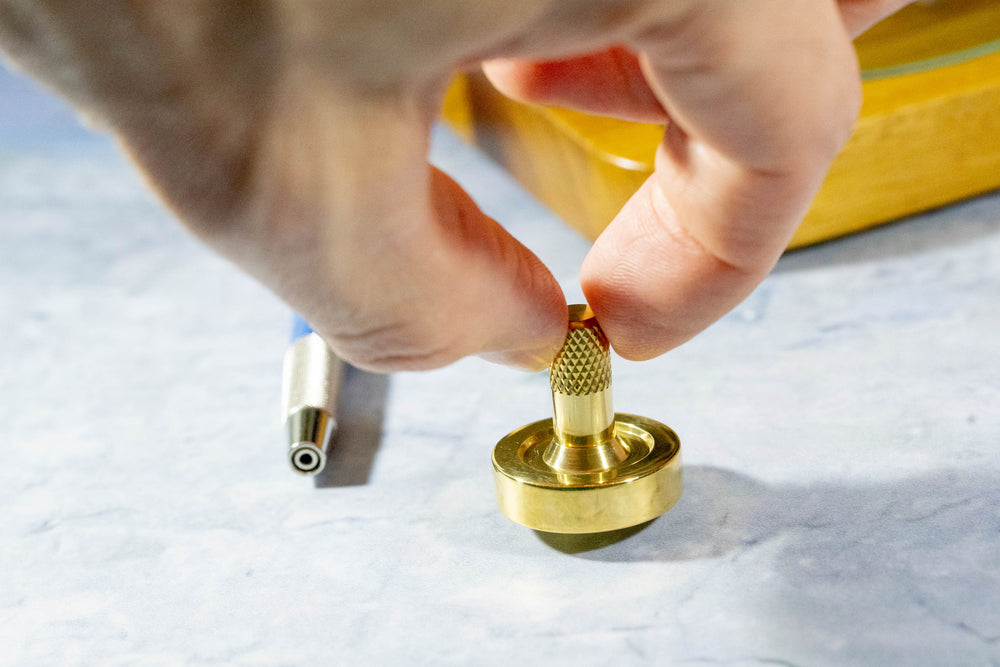Schulte Brass Spinning Top - Bruce Charles Designs