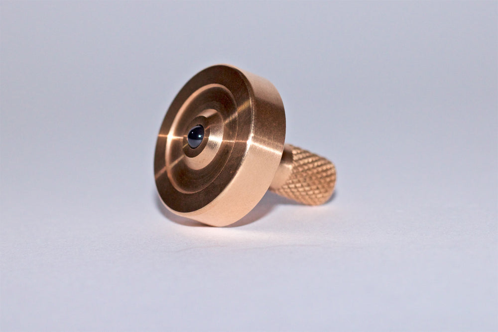 Schulte Bronze Spinning Top - Bruce Charles Designs