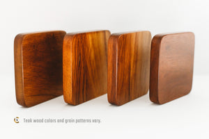 All Four Schulte Tops + Teak Spin Base Gift Pack - Bruce Charles Designs