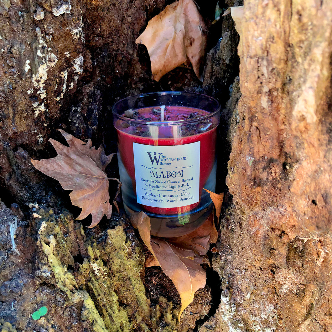 SALE! Mabon Harvest Feast Sabbat Candle