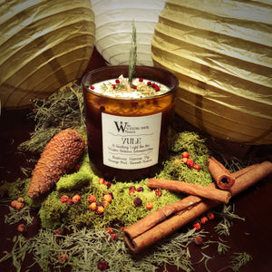 Yule Winter Solstice Sabbat Candle - Back in Stock Soon!