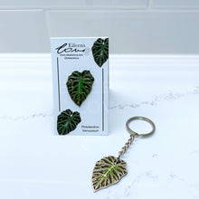 Load image into Gallery viewer, Philodendron Verrucosum Pin/Keyring