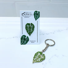Load image into Gallery viewer, Philodendron Mamei Pin/Keyring