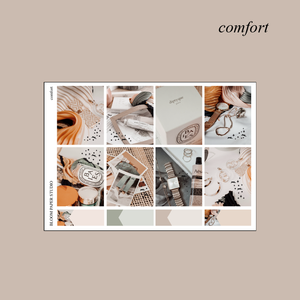 Comfort Foiled Sticker Kit