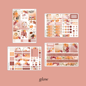 Glow Foiled Planner Sticker Kit