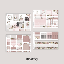 Load image into Gallery viewer, Birthday Foiled Planner Sticker Kit