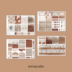 Terracotta Foiled Kit