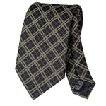 Green Striped Necktie