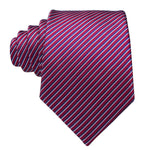 Red & Blue Striped Necktie