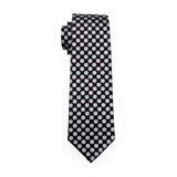 Black & White Polka Dot Necktie