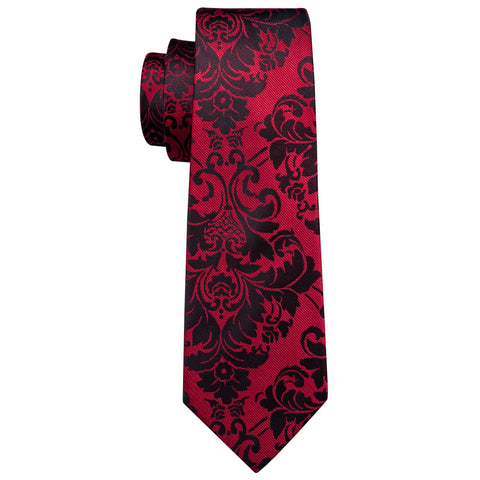 Red & Black Necktie