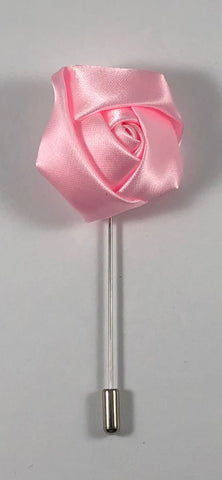 Light Pink Rose Flower Lapel Pin
