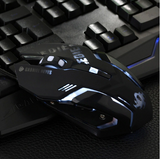 6 Buttons LED Gaming Mouse - Wired USB