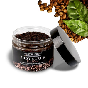 Neutriherbs Coffee Body Scrub w/  Natural Coconut  Oil