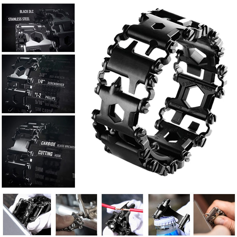 Multi-functional Tool Kit Bracelet