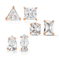 The Geometric Diamond Stud Set
