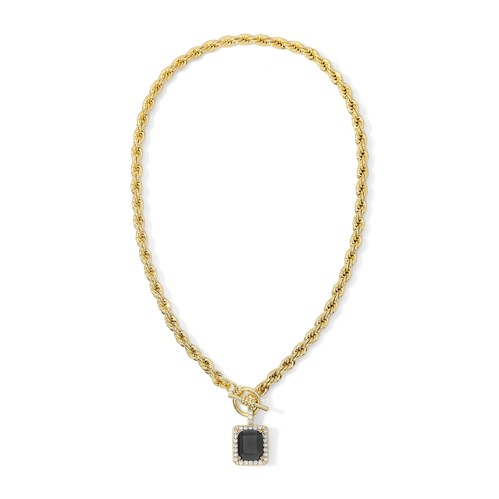 The Harper Necklace Black