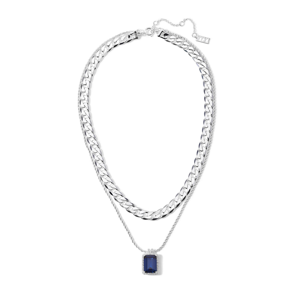 The Eliza Necklace Sapphire