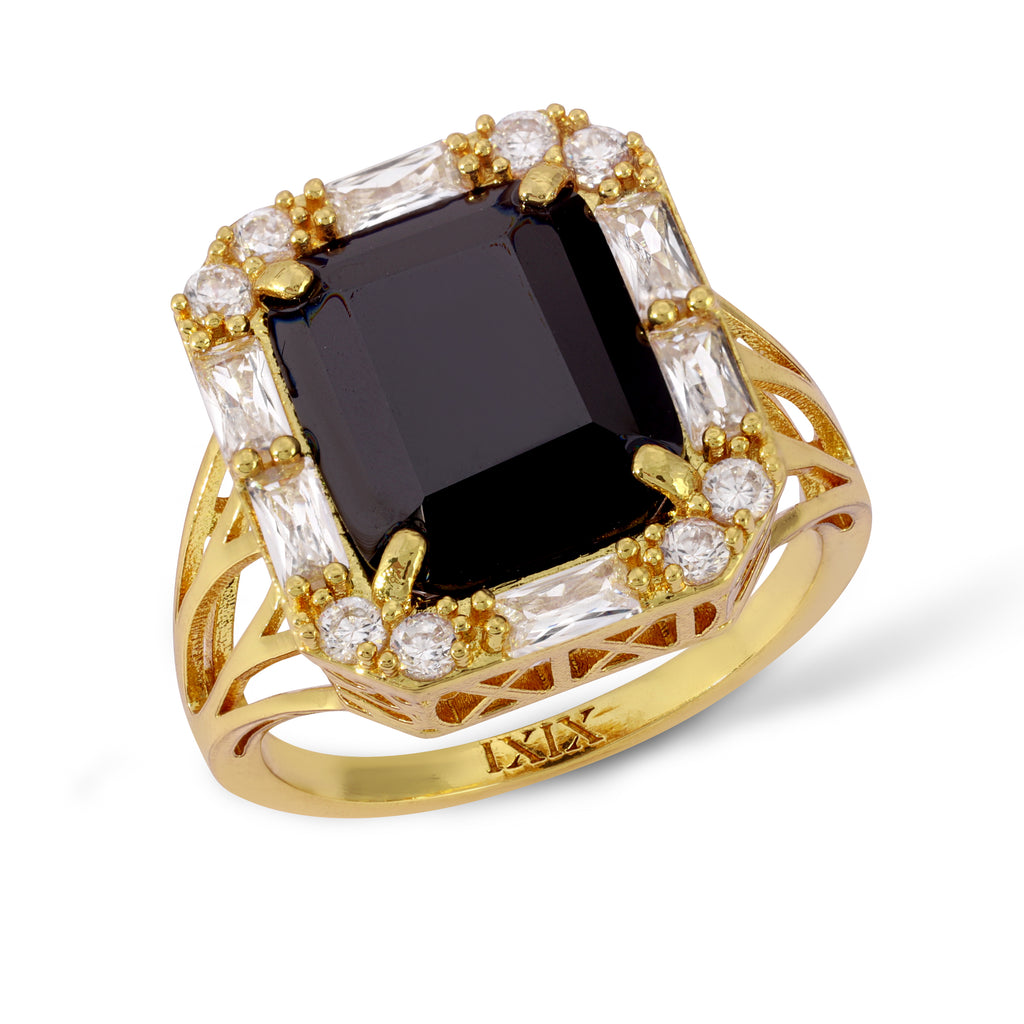 The Marie Ring Black