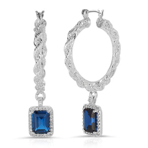 The Engelique Earrings Sapphire