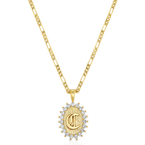 XIXI Initial Necklace