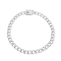 Queens Padlock Necklace Silver