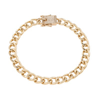 Queens Diamond Padlock Bracelet