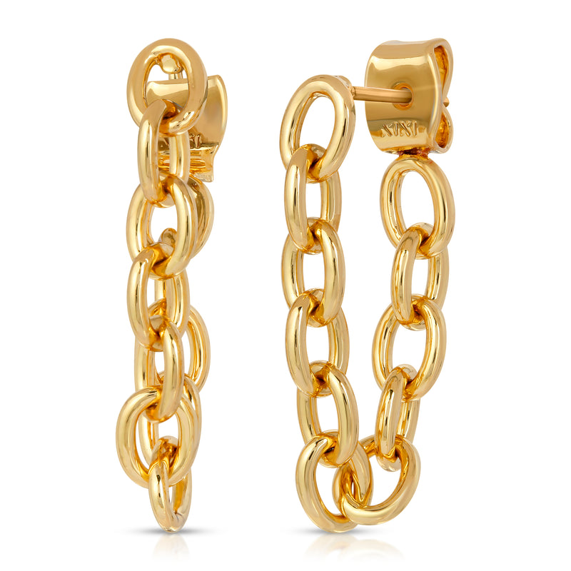 The TriBeCa Chain Earrings