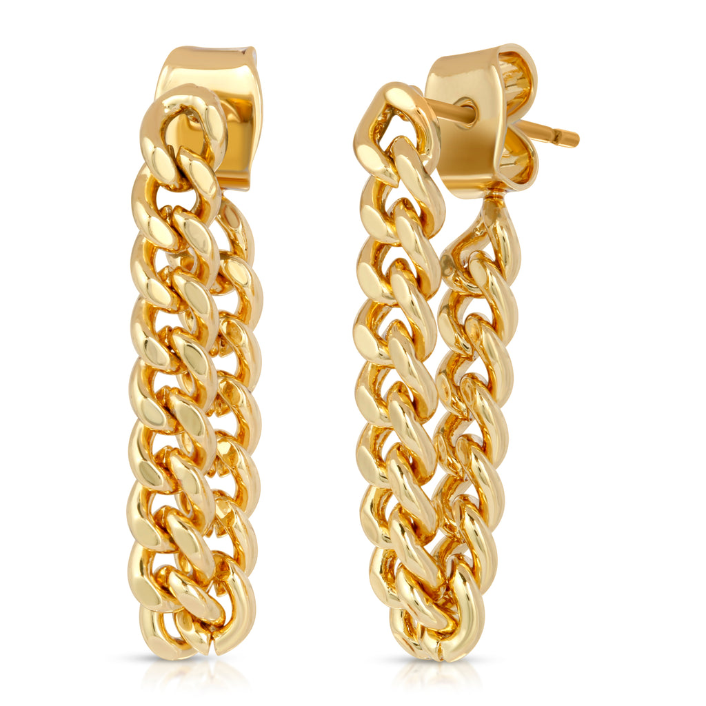 The SoHo Chain Earrings