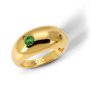The Margaret Ring Emerald