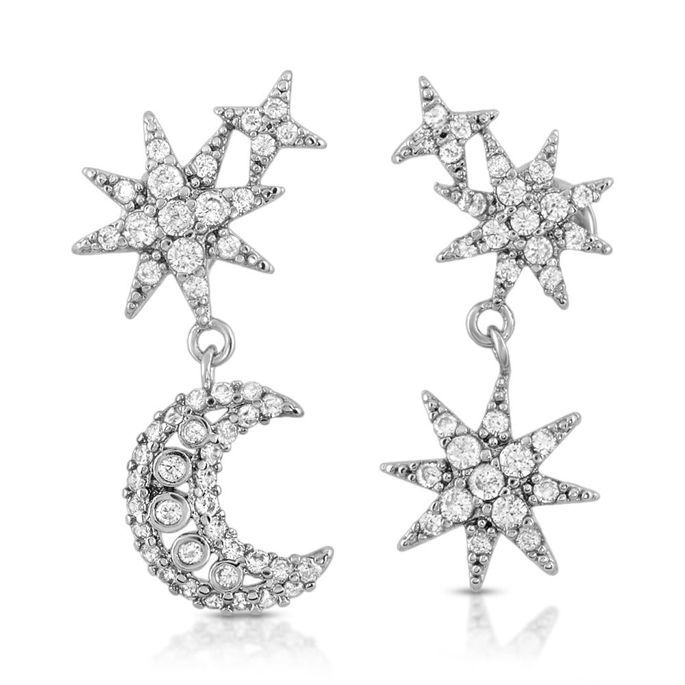 The Star of Night Earrings