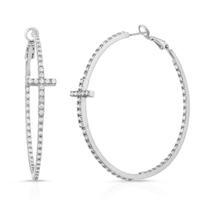 The Diamond Cross Hoop