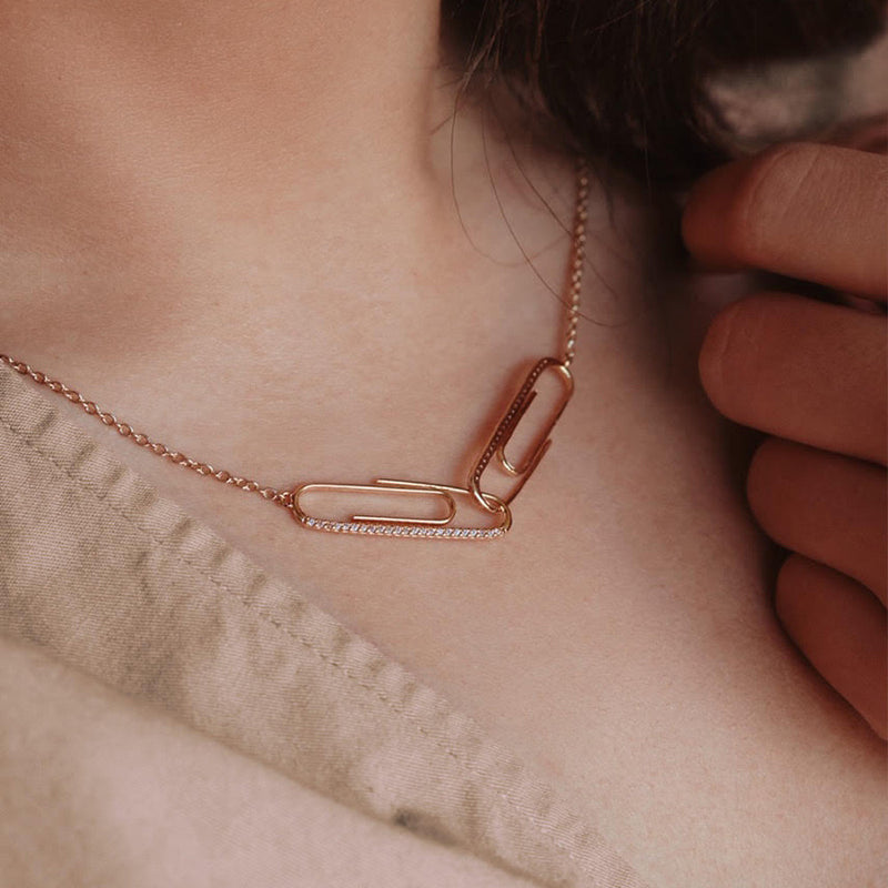 The Paper Clip Necklace