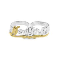 So N.Y Knuckle Ring Silver
