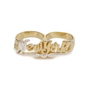 So N.Y Knuckle Ring