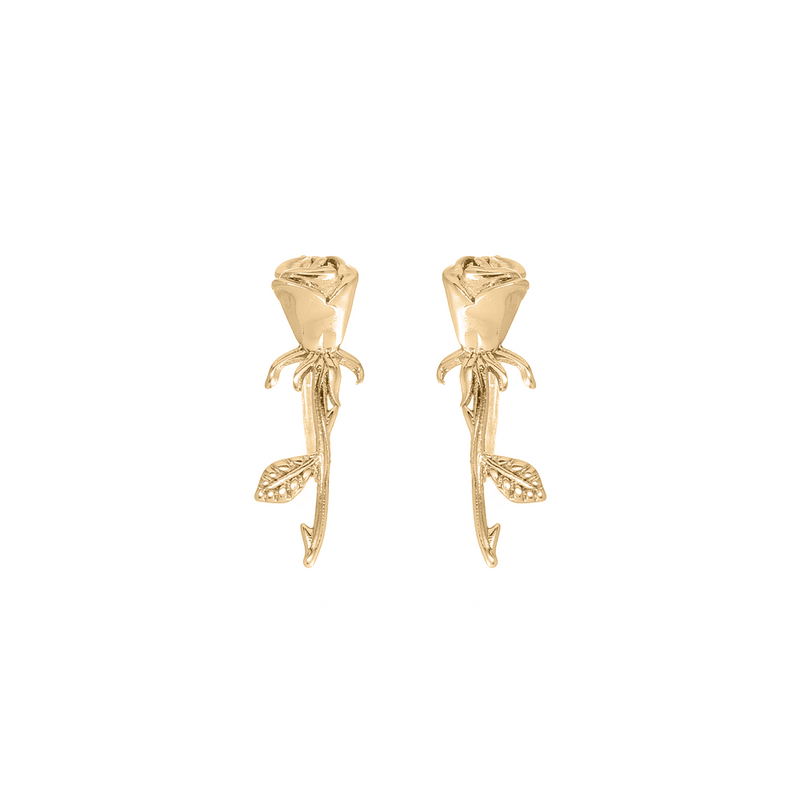 GOLD LA VIE EN ROSE EAR CRAWLER