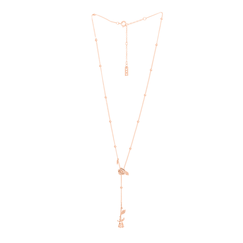 ROSE GOLD LA VIE EN ROSE ROSARY
