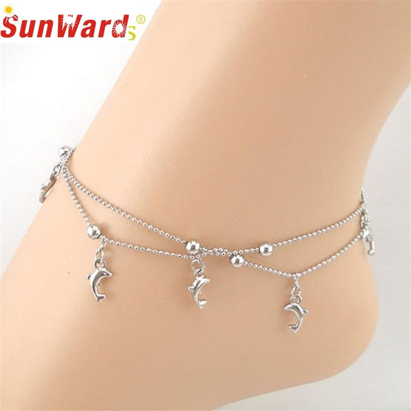 Dangly Dolphin Anklet