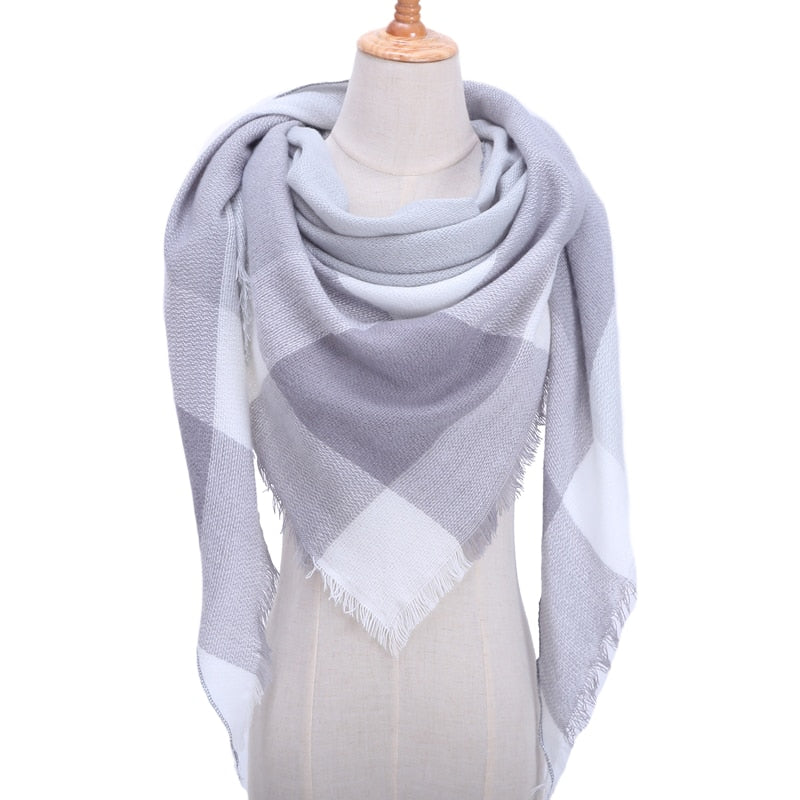 Knitted Women's Scarf
