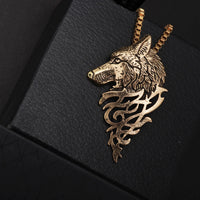 Wolf Head Necklaces