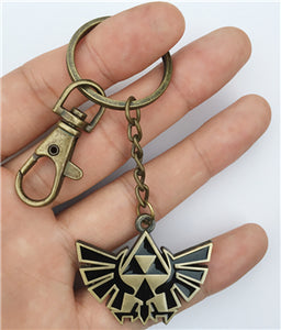The Legend of Zelda Triforce Keychain