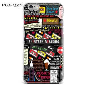 Thirteen Reasons Why iPhone Case