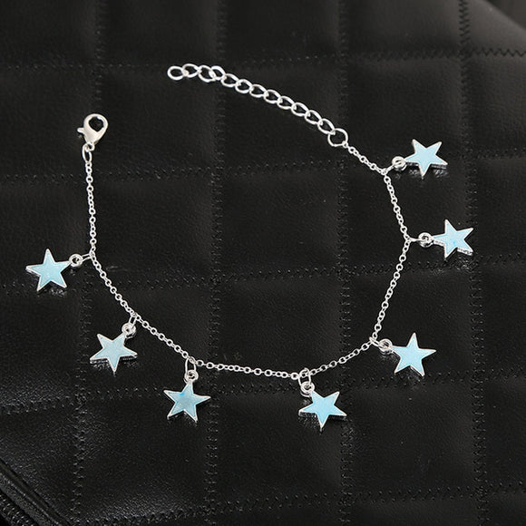 Luminous Star Anklet