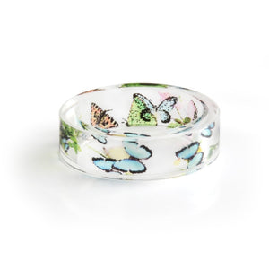 Butterfly Resin Ring