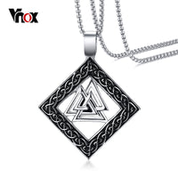 Slavic Valknut Pagan Necklace