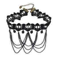 Lace Gothic Choker (Style 13)