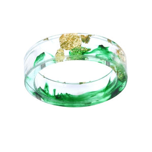 Unisex Resin Ring (Green)