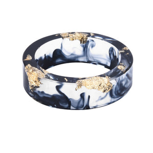 Unisex Resin Ring (Black)